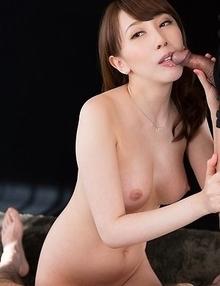 Aya Kisaki Sloppy Seconds Handjob