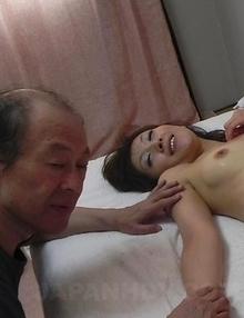 Nasty Miku Sachi sucks cocks and is screwed