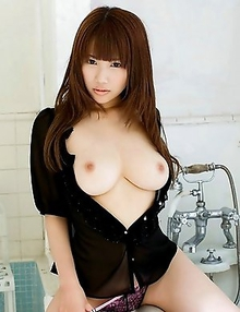 Kirara Kurokawa is enjoying sweet fun with her lovely tits